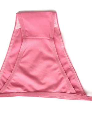 Труси купальні рожеві в принт | 5517954
