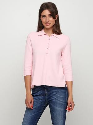 Джемпер-поло рожевий | 5517976