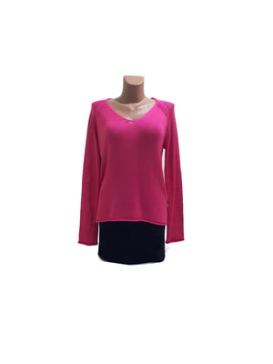 Пуловер розовый | 5518231