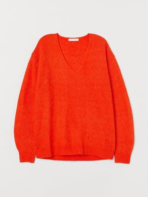Джемпер оранжевый | 5518265