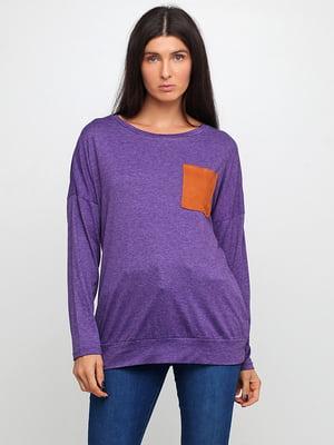 Лонгслив фиолетовый | 5518361