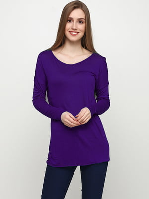 Лонгслив фиолетовый | 5518372