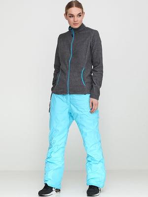 Брюки горнолыжные голубого цвета | 5518444