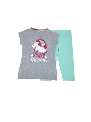 Комплект: футболка і шорти   5518611