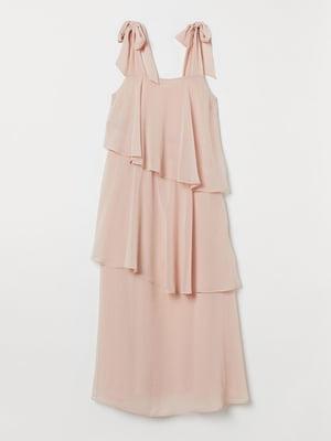 Сукня кольору пудри | 5518943