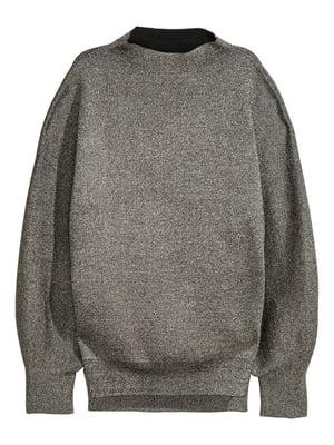 Джемпер сріблястого кольору | 5519011