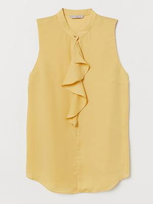 Блуза горчичного цвета | 5519100