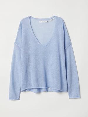 Пуловер голубой | 5519208