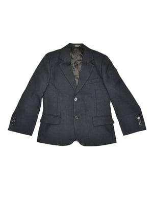 Пиджак темно-серый | 5519707