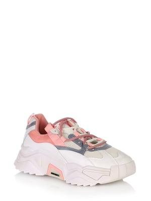 Кросівки рожево-білі | 5519777