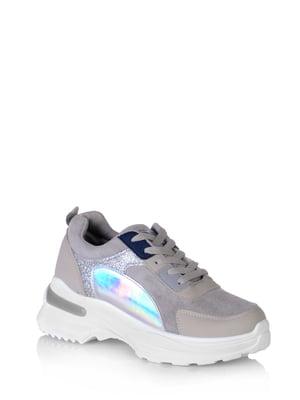 Кросівки сірі | 5519786