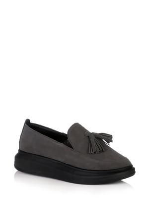 Туфлі темно-сірі | 5519792