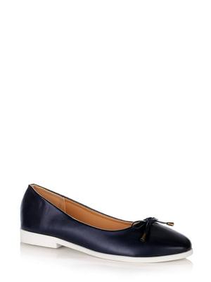 Туфлі темно-сині | 5519796