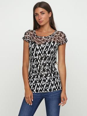 Блуза абстрактного забарвлення | 5503582