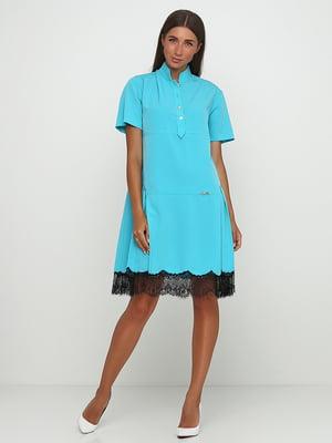Сукня бірюзова | 5503583