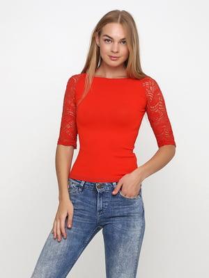 Блуза червона | 5503770