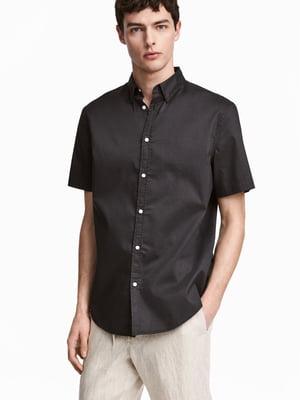 Рубашка темно-серая | 5506227