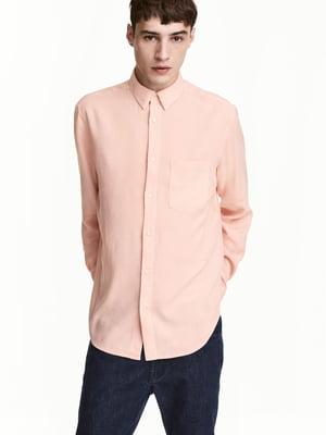 Рубашка розовая | 5506229