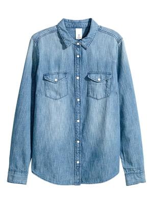Рубашка голубая | 5506404