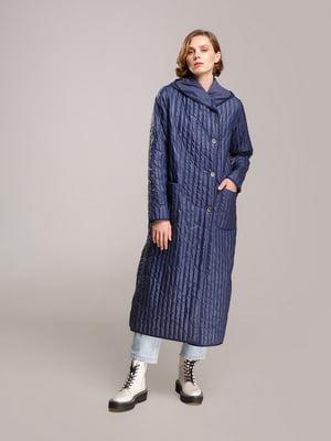 Пальто синее | 5520227