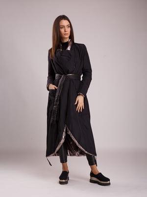 Пальто черно-серое | 5520242