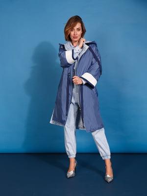 Пальто голубого цвета   5520244