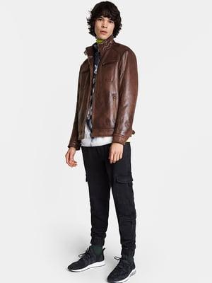 Куртка коричневая | 5520026