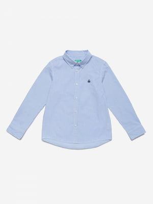 Рубашка голубая | 5520688