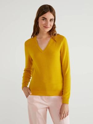 Пуловер жовтий | 5520736