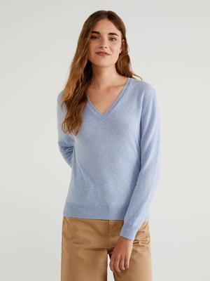 Пуловер голубой   5520737