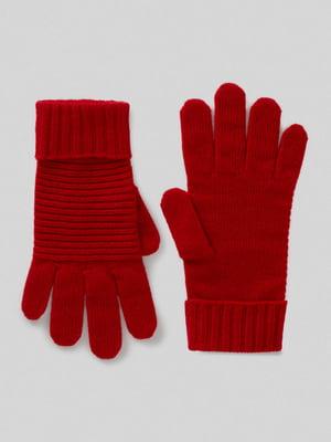 Перчатки красные | 5520822