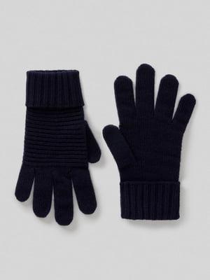 Перчатки темно-синие | 5520823