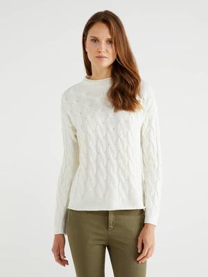 Джемпер білий | 5520843