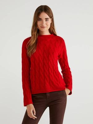 Джемпер красный | 5520847
