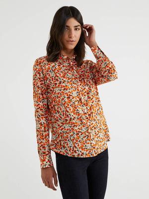 Рубашка в принт | 5520921