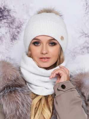 Комплект: шапка і шарф | 5519456