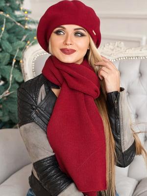Комплект: берет и шарф   5519612