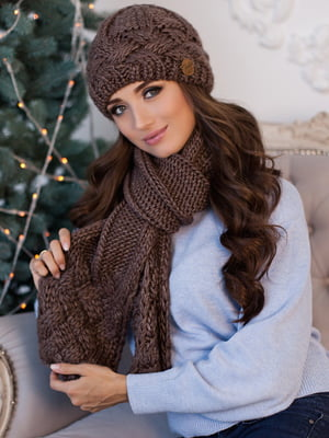 Комплект: шапка і шарф | 5519509