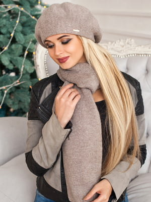 Комплект: берет і шарф | 5519619