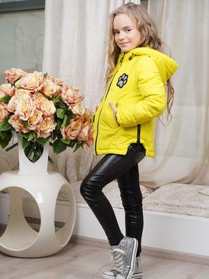 Куртка лимонного цвета | 5523243
