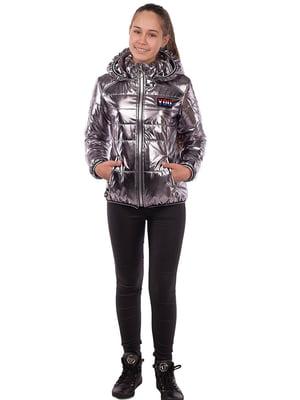 Куртка титанового кольору   5523248