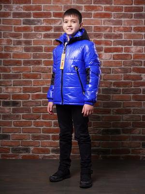 Куртка цвета электрик - Angeli.R - 5523482
