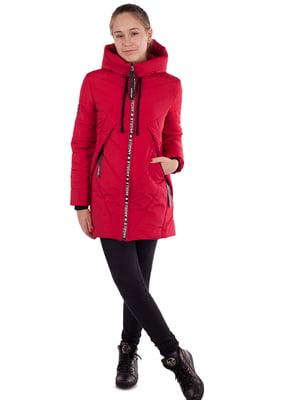 Куртка цвета вишни - Angeli.R - 5523495