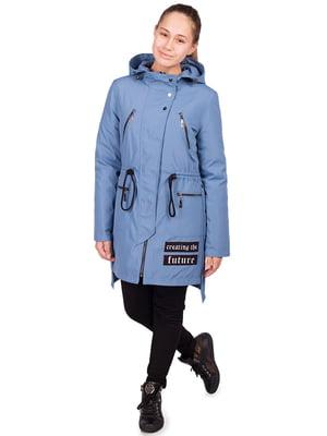 Куртка лазурного цвета - Angeli.R - 5523497