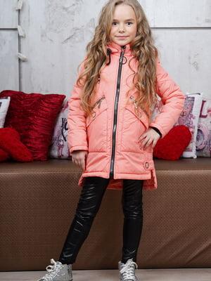 Куртка цвета персика - Angeli.R - 5523502