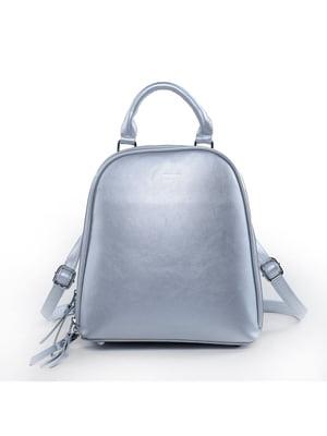 Рюкзак серебристый   5523579