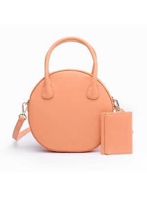 Сумка персикового цвета   5523618