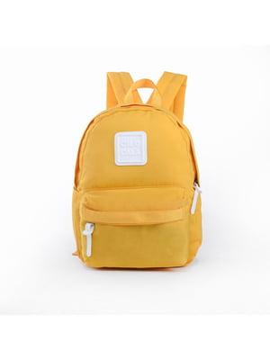 Рюкзак жовтий | 5523644