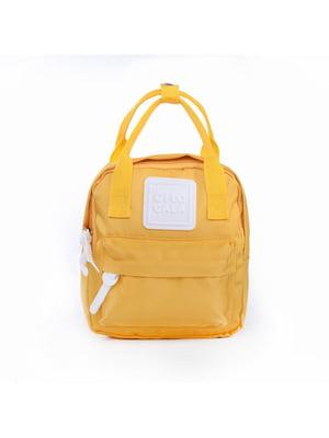 Рюкзак жовтий | 5523653