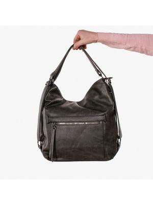 Сумка-рюкзак зелена | 5524154
